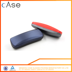 I6295 Wenzhou silver metal optical spectacle caseI6270 WenZhou Double colors PU reading iron glasses case