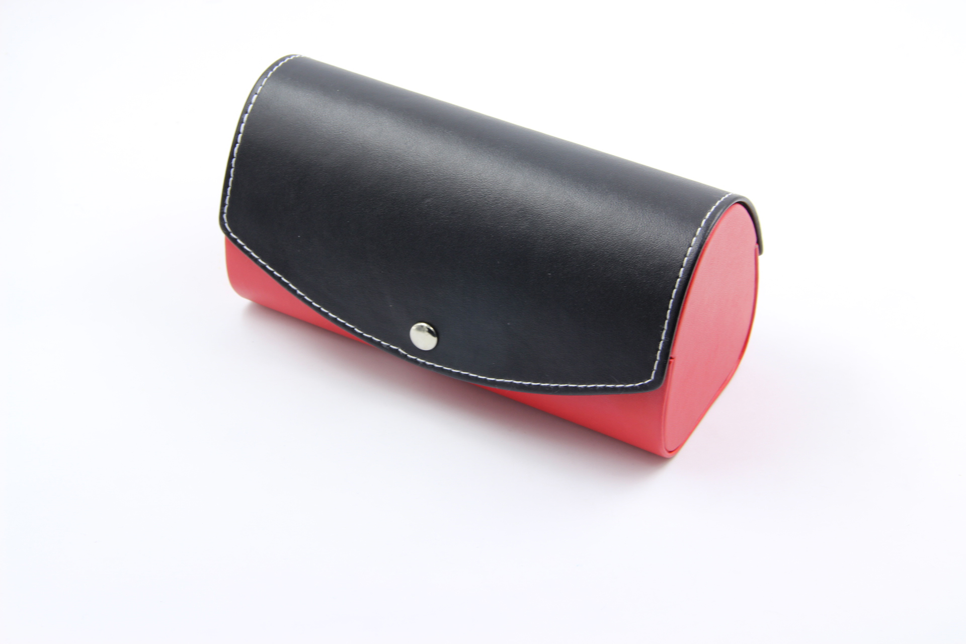Red and black large sunglasses bag removable glasses box