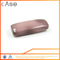 I80 slim cool iron imitation hard eye glass case for optical glasses