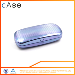 Popular hard eyeglasses case metal