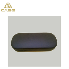 black leather glasses case