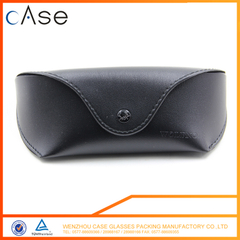 Mini fold soft leather eva sunglasses cases OEM