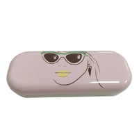portable antibacterial metal sunglasses case