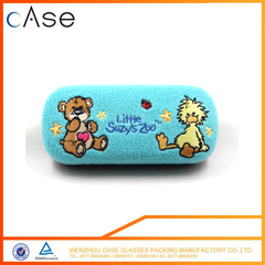 Cute glasses case with flannel eyeglass cases for kids