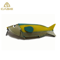 Fish shaped personalized glasses pouch bag Q105