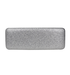 Protective Shockproof silver metal glasses case