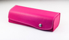 2021 Sunglasses Pink, Button-style Handmade Glasses Case