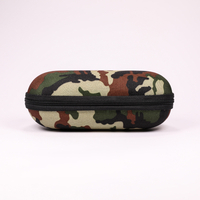 2021 GlASSES CASE A Sunglasses Case Printed with A Camouflage Uniform Pattern, Zipline Type