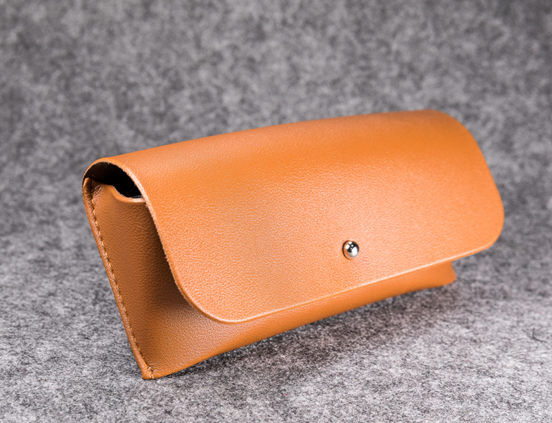 2021 Glasses Case Sunglasses Brown Glasses Case, Like A Leather Bag