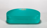 2021 Sunglasses, Turquoise, LOGO Printed Glasses Case