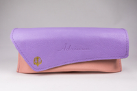 The Glasses Case in 2021 Is A Two-color Glasses Case with LOGO Printed And The Clamshell Is Irregular Trapezoidal. The Design Is Very Creative