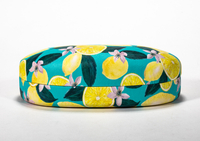 2021 Glasses Case Glasses Case with Lemon Imprinted on Sunglasses
