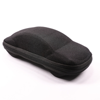 2021 Glasses Case Sunglasses Black, Zip Type Glasses Case, Looks Like A Car, The Design Is Very Interesting