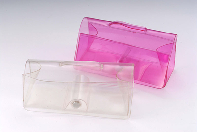 2021 Color Film Case, Two Colors, Translucent, Button Type Film Case