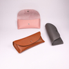 The Glasses Case Comes in Three Colors, Like A Small Leather Bag