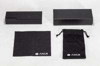 2021 Sunglasses, Printed with The LOGO, Black Glasses Case, inside Contains A Tin Box, Wipe Cloth, Pocket Set