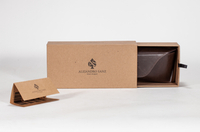 2021 Sunglasses, LOGO Printed, Brown Wood Grain Glasses Case, Including Paper Box And Glasses Soft Case