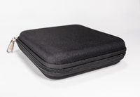 2021 Chronograph Storage Box Black Zip Type Square Box,