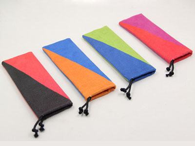 Hot Transfer Print Reading Glasses Pouch D138
